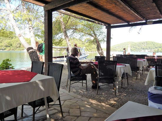 Mljet Island, Croacia: Restaurant Melita