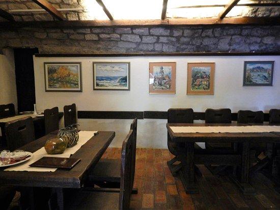 Mljet Island, Croacia: Restaurant, inside