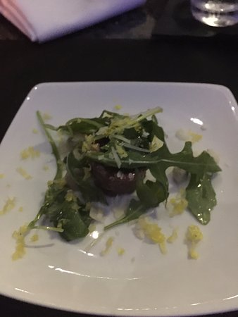 Indian Harbour Beach, FL: amuse–bouche Wagyu tartar