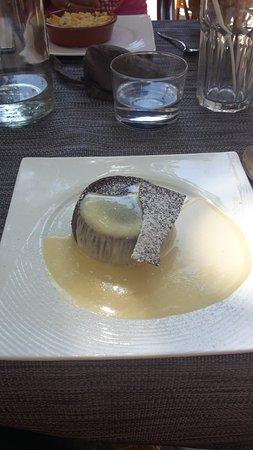 Cogolin, France : et pour finir en dessert un fondant : une pure merveille !
