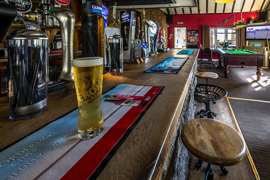 St. Florence, UK: Bar