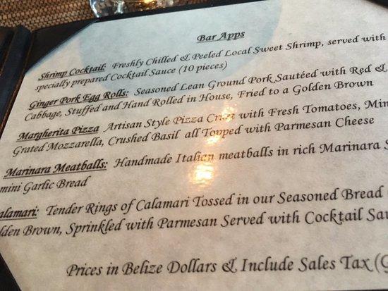 Black Orchid Restaurant: Appetizers