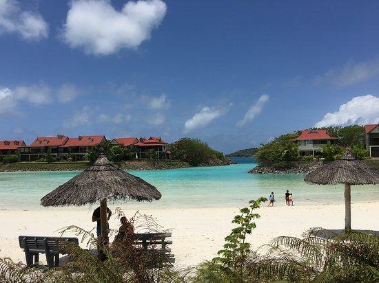Another beach on Eden Island