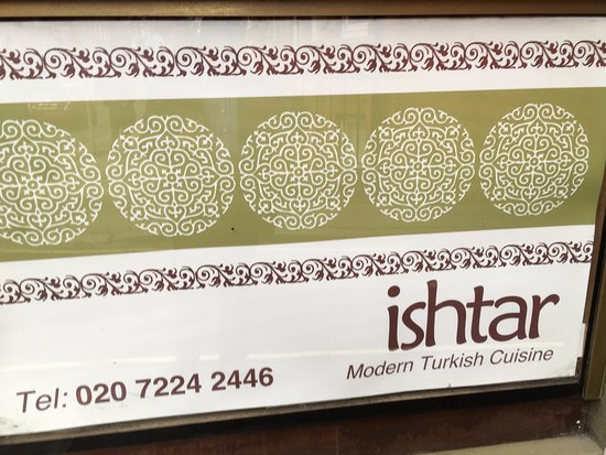 Ishtar Restaurant London Review