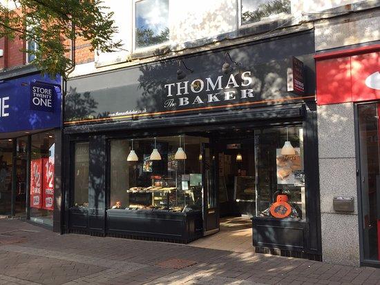 Goole, UK: Thomas the Baker