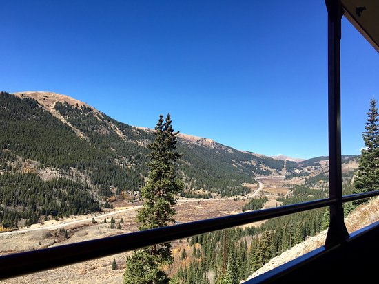 Leadville, CO: View from the train