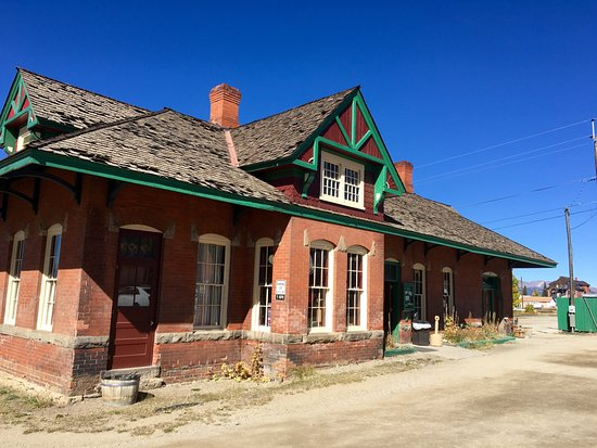 Leadville, CO: Train Depot