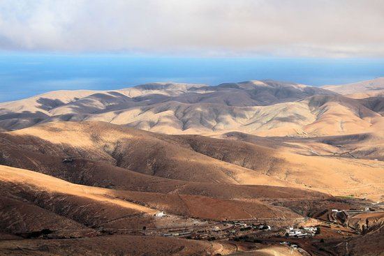 Betancuria, Spagna: vista panoramica dal mirador
