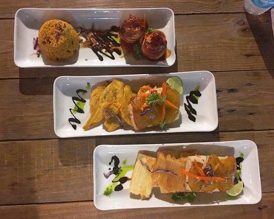 Ocean Front Hotel & Restaurant: nuestra cena
