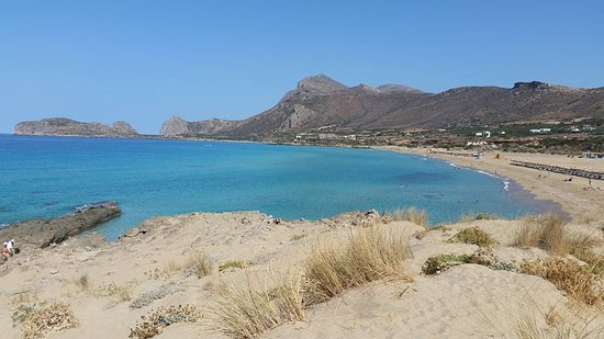 Falassarna, اليونان: big beach vista dalla dunetta di sabbia