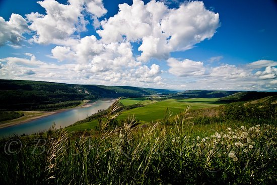 Hudson's Hope, Canadá: The Peace Valley