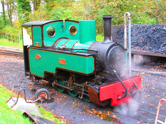 Parracombe, UK: The loco