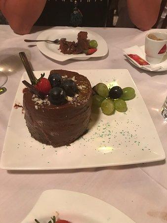 Burgau, Portugal: Best choclate cake ever
