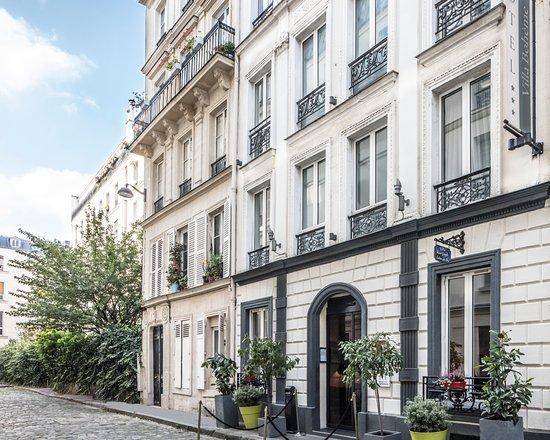 Hotel Villa Bohème: façade dans impasse privée au calme