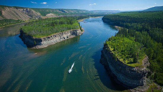 Hudson's Hope, Canada: Peace River