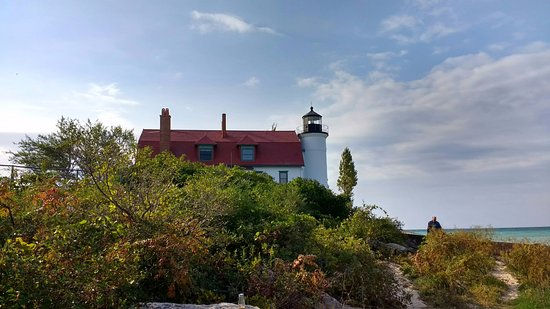 Frankfort, MI: point betsy lighthouse