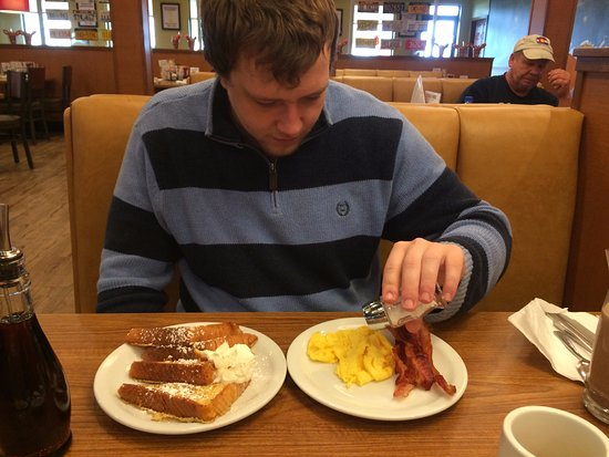 Carlisle, PA: 2nd day's breakfast