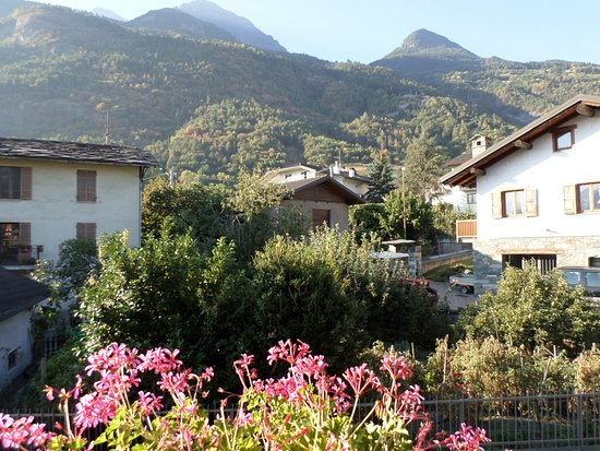 Pollein, Italia: View from the balcony