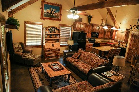 Decatur, Teksas: Cabin #4 Interior