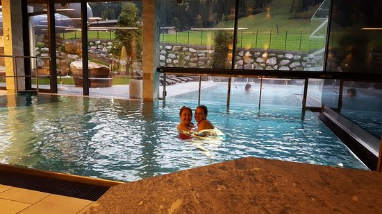Leogang, Austria: Indoor pool - new and modern with relaxed Atmosphere
