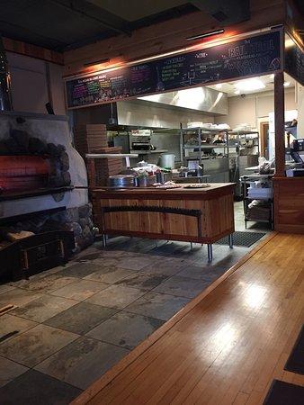 Hudson, MA: Wood fire & Open kitchen
