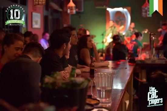 Dublin Irish Pub: Ambiente 100% irlandes