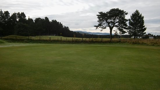 Grantown-on-Spey, UK: Beautiful October day at Grantown Golf Course