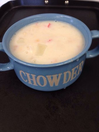 Lancaster, NH: Our seafood Chowda