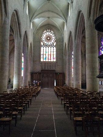 Dinan, Francia: Basilique St-Sauveur (interior)