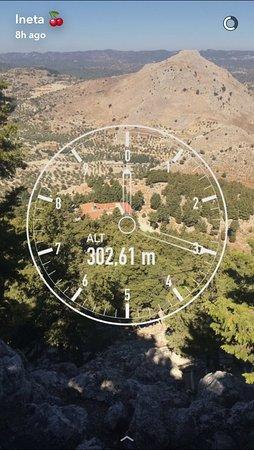Kolimbia, اليونان: 302.61 m moments from trips: SNAPCHAT: cherryberry001