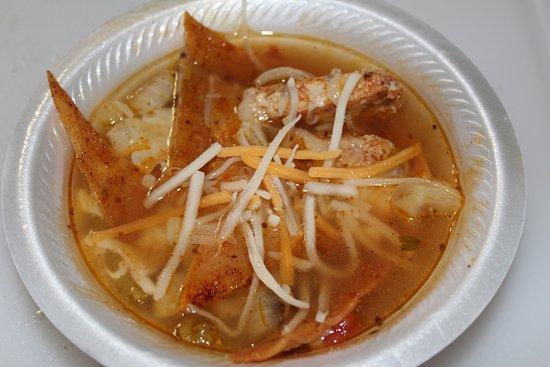 Trinidad, CO: Chicken Tortilla soup