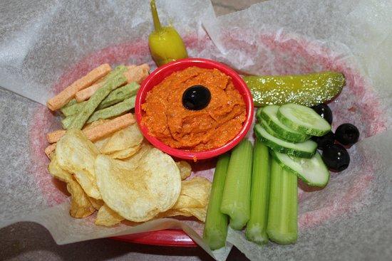 Trinidad, CO: Hummus dip