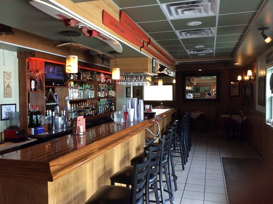 Marine City, MI: A view of the bar