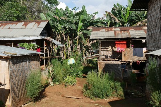 Kalaw, Birmânia: A typical village where we stayed overnight