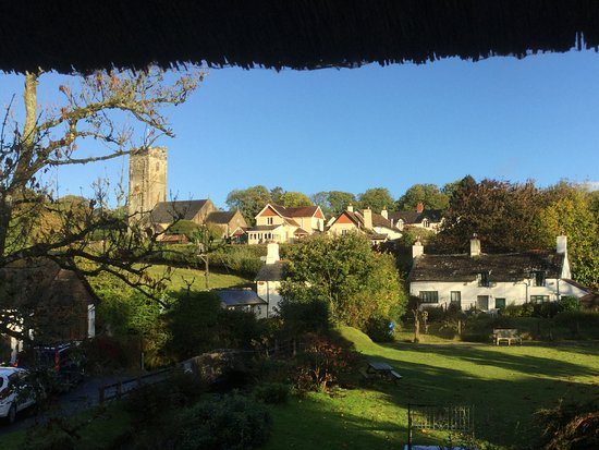 Winsford, UK: View from room under the thatch