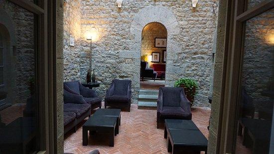 Vagliagli, Italia: Lounge