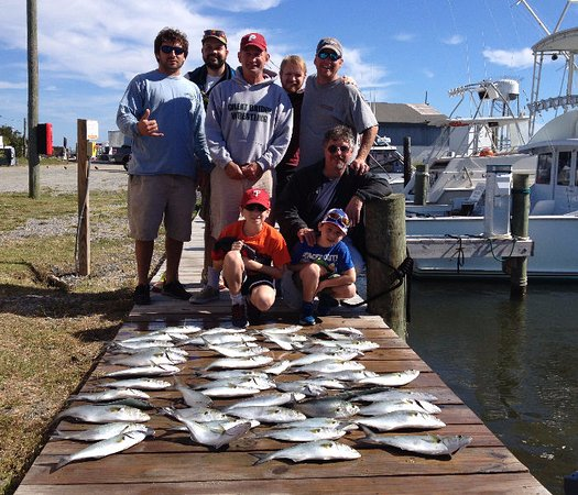 Wanchese, NC: Affordable family fishing for Outer Banks visitors.
