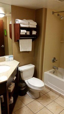 Hampton Inn Indianapolis-South: Clean Bathrooms