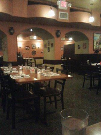 Sheboygan, WI: Interior Of El Camino Mexican restaurant
