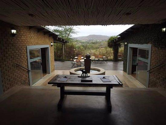 Hazyview, Sudáfrica: Instalaciones de Elephant Whispers