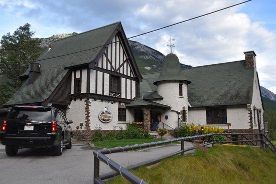 Waldhaus Restaurant: Gebäude