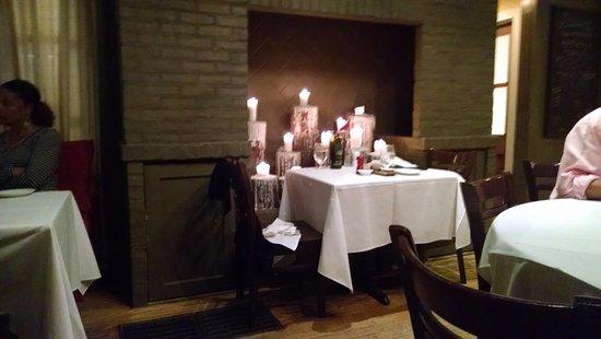 Palmetto, GA: Most romantic spot in the restaurant.