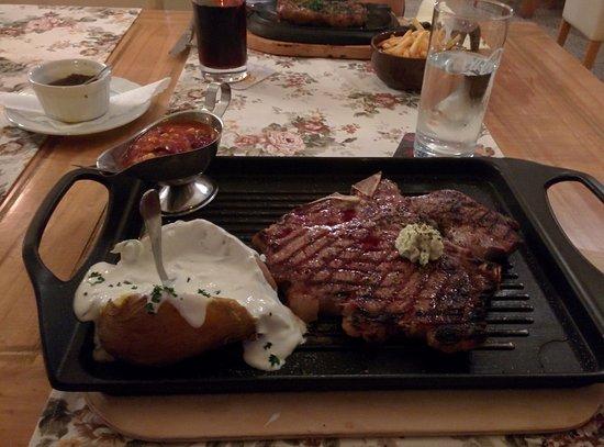 Oppenheim, Germany: 600g T-Bone Steak