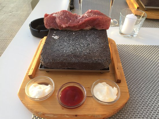 stone grill very god beaf