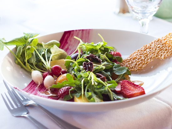 Gourmet and Company : All local Spring Salad.