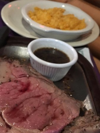 Isle, MN: Prime rib and cheesy potatoes--we'll be there again on Monday!