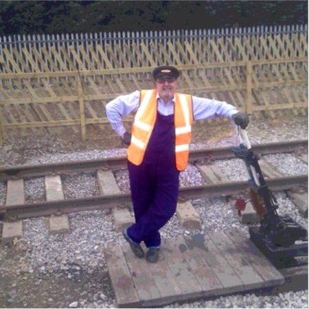 Wirksworth, UK: Changing the points at Duffield Station