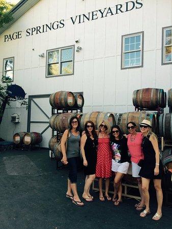 Sedona Wine Adventures: Bevy of lovelies at Page Springs Cellars