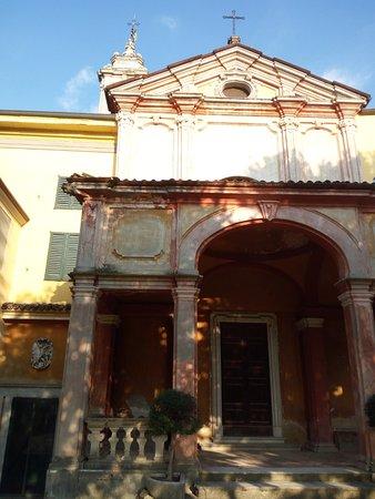 Vaprio d'Adda, Italia: La chiesetta barocca