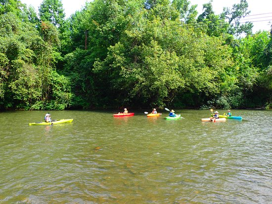 Martinsville, VA: paddling from Bassett to Stanleytown on the Smith River